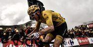 Geraint Thomas à l'arrivée à Saint-Lary-Soulan (1280x640) Marco BERTORELLO / AFP