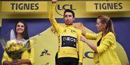 Egan Bernal Maillot jaune à Tignes (1280x640) Marco Bertorello / AFP