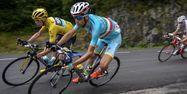 Nibali et Froome (1280x640) Lionel BONAVENTURE/AFP