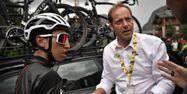 Egan Bernal avec Christian Prudhomme (1280x640) Marco Bertorello / AFP