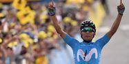 Nairo Quintana vainqueur à Valloire (1280x640) Marco Bertorello / AFP
