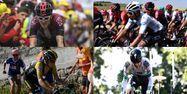 Montage rivaux des Français sur le Tour (1280x640) Montage Jeff PACHOUD/Philippe LOPEZ/Anne-Christine POUJOULAT/AFP