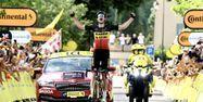Wout Van Aert vainqueur Mont Ventoux Tour de France 2021 @Philippe LOPEZ / AFP