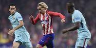 Antoine Griezmann face au Barça (1280x640) JAVIER SORIANO / AFP