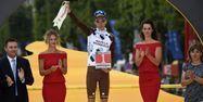 Romain Bardet à l'arrivée du Tour (1280x640) Stéphane MANTEY/Pool/AFP