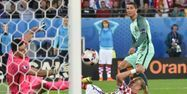 Cristiano Ronaldo Portugal Croatie PHILIPPE HUGUEN / AFP 1280