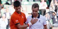 Djokovic et Gasquet à Roland-Garros (1280x640) Patrick KOVARIK/AFP
