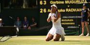 Garbine Muguruza à Wimbledon 2015 (1280x640) Leon NEAL/AFP