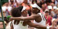 Les soeurs Williams à Wimbledon (1280x640) Leon NEAL/AFP