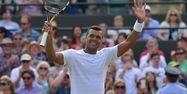Tsonga à Wimbledon 2015 (1280x640) Leon NEAL/AFP