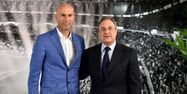 Zidane avec Perez (1280x640) Gérard JULIEN/AFP