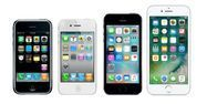 évolution iPhone 1280