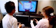 Enfants jeu vidéo