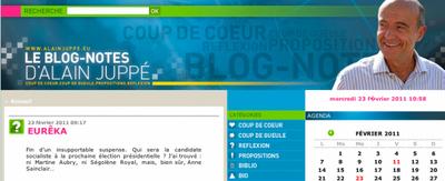 juppé blog
