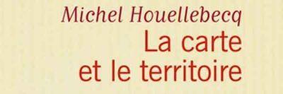 Michel Houellebecq livre La Carte et le territoire. couverture 600200