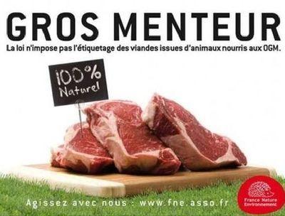 Une affiche de la campagne de France Nature environnement