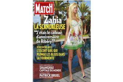Une de Paris Match avec Zahia (630 x 420)