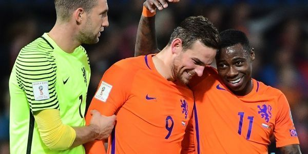 Vencent Janssen, 22 ans, buteur lors du dernier match des Hollandais.