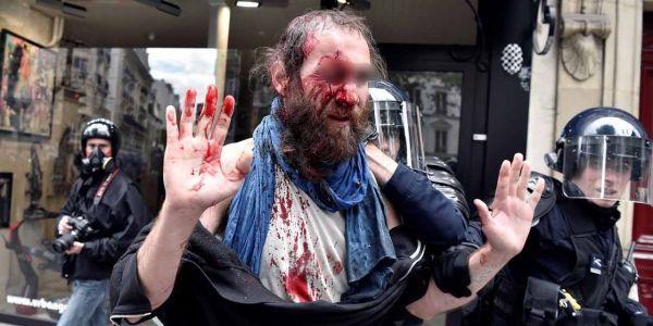 14.06.Manifestation Paris loi Travail violences.ALAIN JOCARD  AFP.1280.640