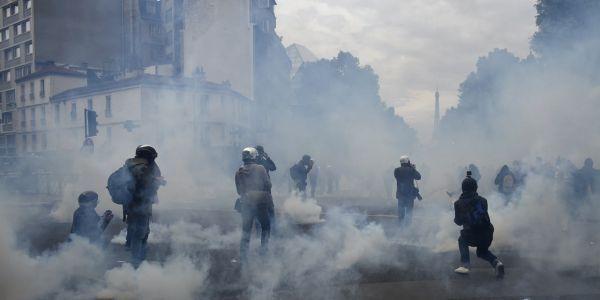 14.06.Manifestation Paris loi Travail violences.DOMINIQUE FAGET  AFP.1280.640