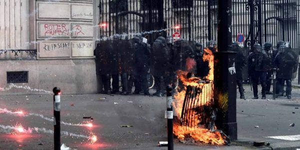 14.06.Manifestation Paris loi Travail violences police.ALAIN JOCARD  AFP.1280.640