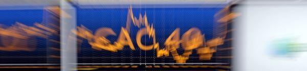 19.05.Bandeau CAC 40 bourse finance.ERIC PIERMONT  AFP.1280.300
