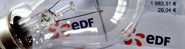 22.04.Bandeau EDF energie elctricite.PHILIPPE HUGUEN AFP.600.160