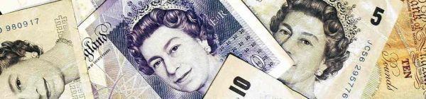 22.06.Bandeau Livre sterling billet Royaume uni.SHAUN CURRY  AFP.1280.300