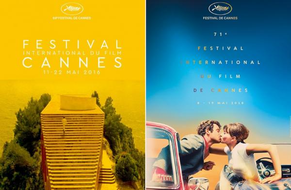 Affiches Cannes Godard