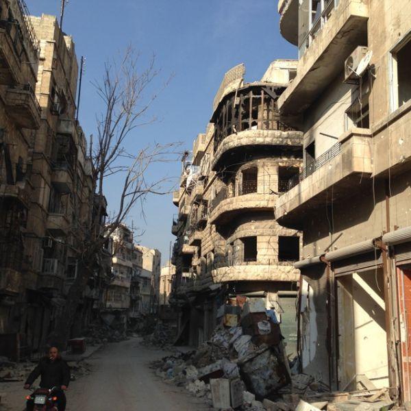 Alep-est crédit : Jean-Sébastien Soldaïni / Europe 1
