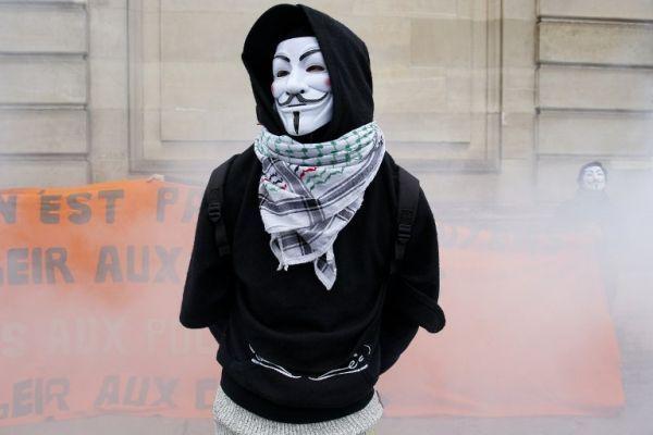 anonymous MATTHIEU ALEXANDRE  AFP