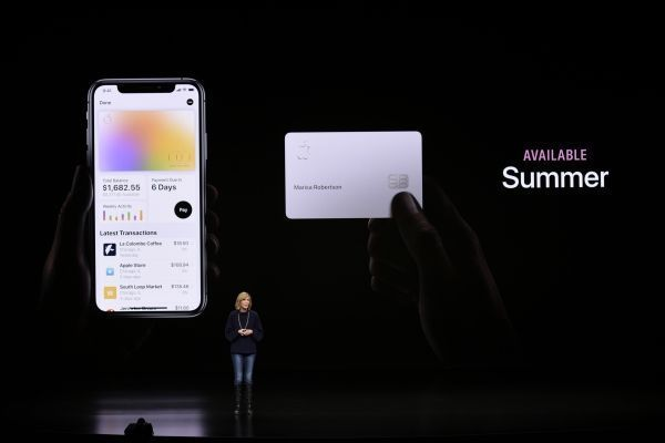 Apple Card sera déployée à l'été aux États-Unis. Michael Short / GETTY IMAGES NORTH AMERICA / AFP