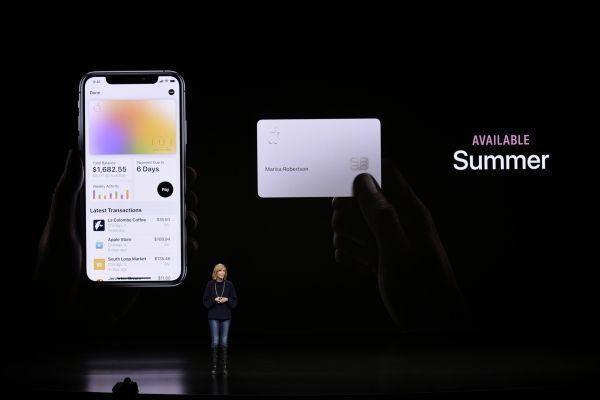 Apple Card sera déployée à l'été aux États-Unis. Michael Short / GETTY IMAGES NORTH AMERICA / AFP