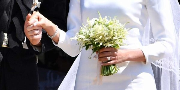 bouquet meghan markle mariage prince harry