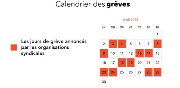 Calendrier Des Greves A La Sncf.Greve A La Sncf Des Perturbations Des La Fin Du Week End