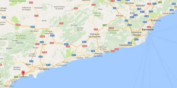 Carte Barcelone Cambrils.Espagne Six Civils Et Un Policier Blesses Dans Un Attentat