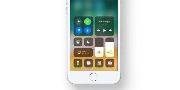 centre de controle iOS 11 1280