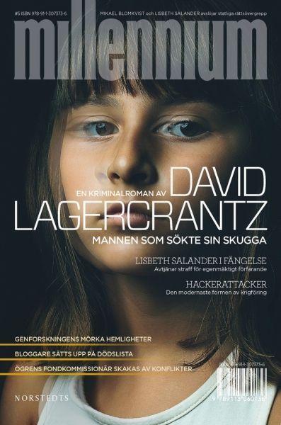 Couverture suédoise du tome 5 de Millénium