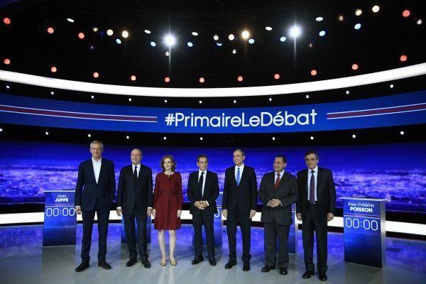 débat primaire lr