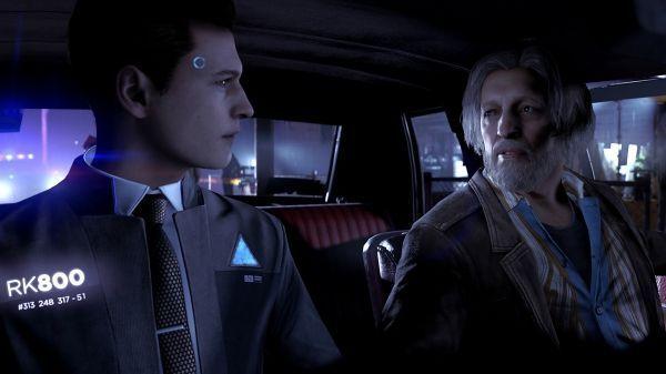 Les interactions avec les personnages vous placent dans la peau d'un androïde.