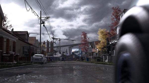En 2038, la ville de Detroit est coupée en deux entre un centre dynamique et des banlieues délaissées.