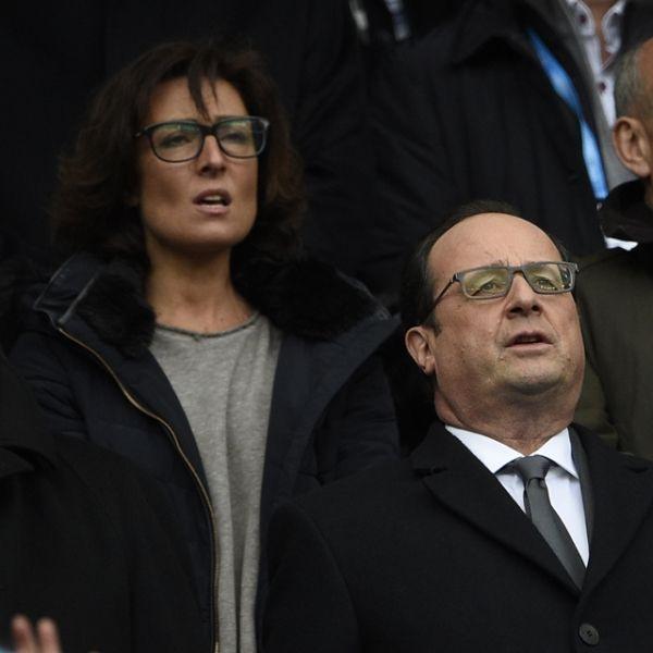 François Hollande de retour au stade de France pour France - Italie