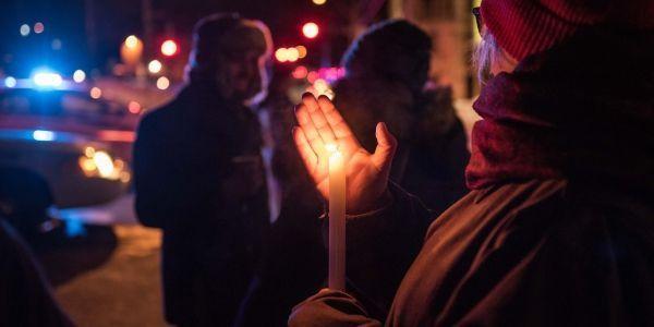 fusillade, québec crédit : ALICE CHICHE / AFP - 1280