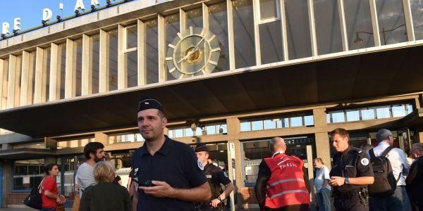 Gare Arras AFP
