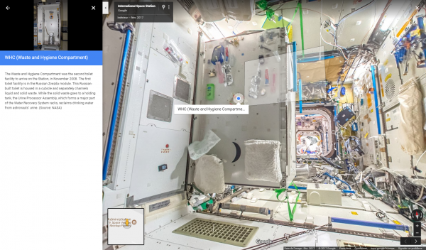 google street view ISS crédit : Google