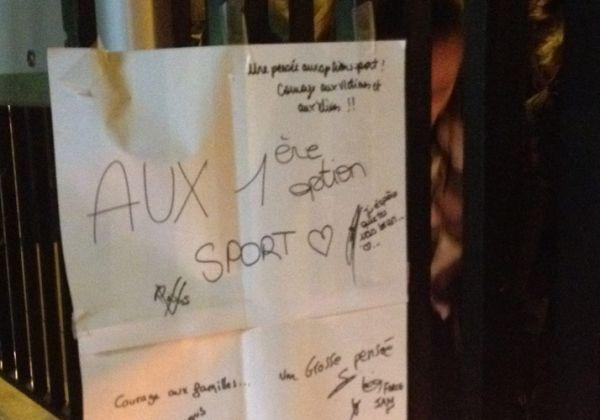 Hommage aux élèves du lycée Saint-Exupéry décédés aux Deux-Alpes