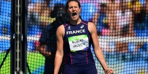 JO-de-Rio-2016-Athletisme-Melina-Robert-Michon-medaillee-d-argent-au-lancer-du-disque