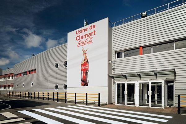 L'usine Coca-Cola de Clamart est la plus ancienne encore en activité en France © Coca-Cola