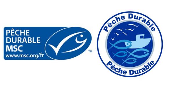 Labels pêche durable