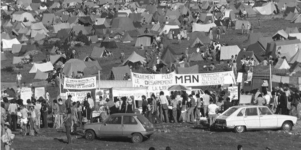 Le plateau du Larzac a été le théâtre de dix ans de lutte contre l'extension d'un camp militaire (photo d'archives AFP)